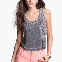 Project Social T Burnout Crop Tank (Juniors) | Nordstrom