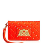 Quilted Nylon Tech Wristlet