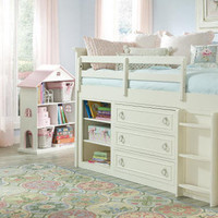 Georgiana Twin Mid High Loft Bed