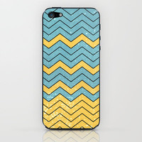CHEVRON - Summer is crazy iPhone & iPod Skin by Belle13