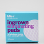 bliss Ingrown Eliminator Pads