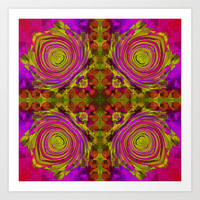Pattern nr.3 Art Print by LoRo  Art & Pictures