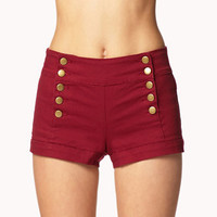 Cuffed Sailor Shorts