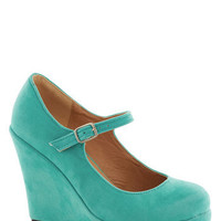 Take the Podium Wedge | Mod Retro Vintage Wedges | ModCloth.com