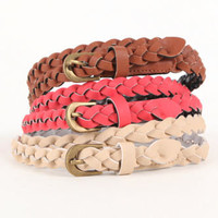 With Love From CA 3 Pack Color Braided Belts at PacSun.com