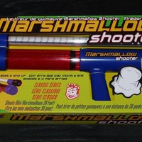 Classic Series Marshmallow Shooter New in Box Shoots Mini Marshmallows 30 Feet