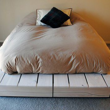 $2,500.00 Custom Platform Bed by BoulderElements on Etsy