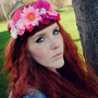 pink fairy . . Floral Crown // Headband Garland / Pink Flower Festival Hippie Boho Woodland