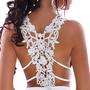 Fashionwoman — Sexy lace T-shirt