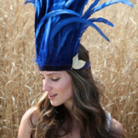 Little Doe Wanderlust Feather Headdress at Free People Clothing Boutique