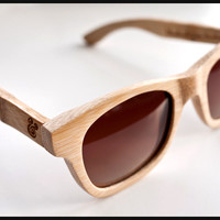 UGMONK  VERDE STYLES BAMBOO SUNGLASSES (NATURAL) | Ugmonk