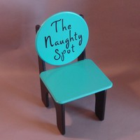 Naughty Chair for your Little Angel | GreatCustomFurniture - Children's on ArtFire