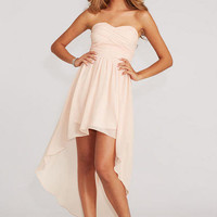 Delia's Pleated High Low Dress -