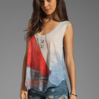 Rebel Yell Hi Low Tee in Sailboat from REVOLVEclothing.com