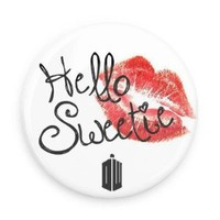 Amazon.com: Doctor Who Hello Sweetie 1.5 Inch Fridge Magnet: Everything Else