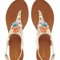 ALDO Bichoupan Jewelled Flat Sandals