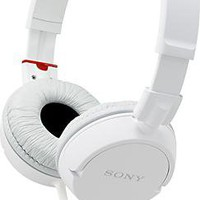 Sony - ZX Series Stereo Headphone - White - MDR-ZX100/WHT - Best Buy