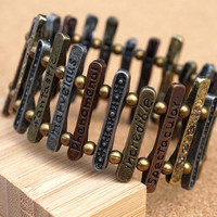 Pick a Word Stretch Bracelet