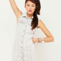 Motel Amelia Denim Dress in Grey Wash