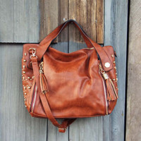 Tucker Studded Tote, Women's Rugged Bags, Totes, & Backpacks