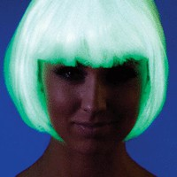 Glow In the Dark Bob Wig | Spurst.com