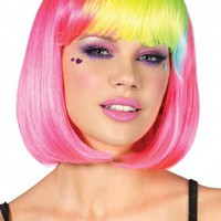 Rainbow Bob Wig | Spurst.com