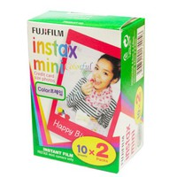 Colorful Fuji Instax Mini Film (20 Films)