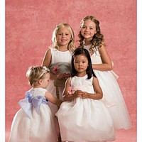 [94.59] Brand New  Custom-made Lovely Flower Girl Dress With Top Quality - Dressilyme.com