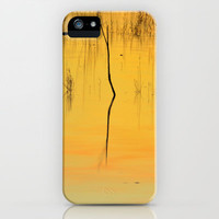 Reflections at the lake iPhone & iPod Case by Guido Montañés