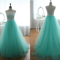 Amazing Tulle Prom Dress/wedding
