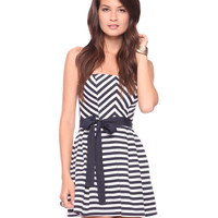 Seashore Stripes Dress | FOREVER21