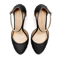 STUDDED VAMP SHOE - High-heels - Shoes - Woman - ZARA United States