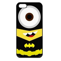 Batman Despicable Me Minion iphone 5 case cover