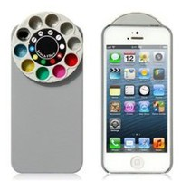 Wisedeal Special Effect Filters Wheel & Protective Case for iPhone 5