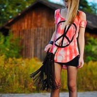 Peace Sign Fashions