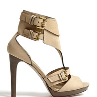 Kenley Soft Aviator Platform Sandals by Burberry Shoes