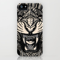 Eye of the Tiger iPhone & iPod Case by BioWorkZ