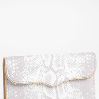 Rebecca Minkoff Python Print Flap Wallet | Nordstrom