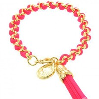 Tassel Coin Bracelet