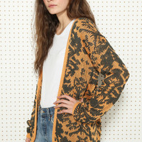 Minkpnk Reflection Intarsia Cardigan at Urban Outfitters