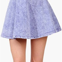 Miss Me Skirt - Purple