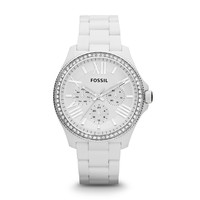 AM4494 - Cecile Multifunction Resin Watch - White