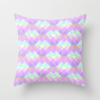 Morning Throw Pillow by gabi press