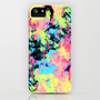 Blacklight Neon Swirl iPhone &amp; iPod Case by Caleb Troy