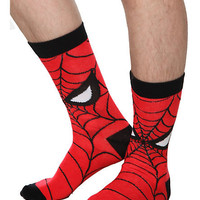 Marvel Spider-Man Men's Crew Socks | Hot Topic