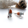 Adorable Soft Boiled Egg Earrings With Spoons