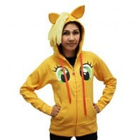 Applejack Face Hoodie