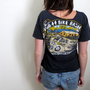 Bike Bash Crop Top Cropped Tee Motorcycle Biker Shirt Womens Pub 44