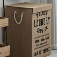 Buy Jute Laundry Hamper from the Next UK online shop
