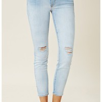 Genetic Denim Mid Crop Cigarette Jean